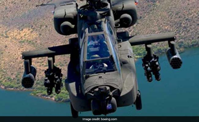 US Clears $930 Million Deal To Sell 6 Apache Helicopters To India