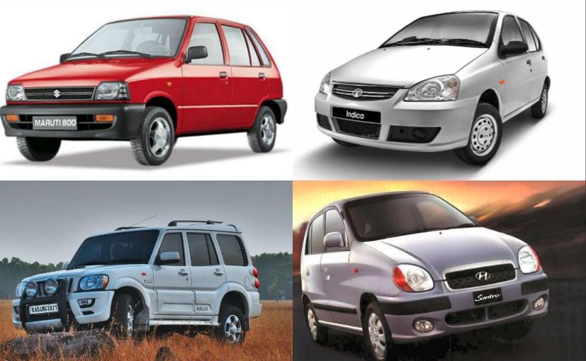 The 800, Indica, Scorpio, Santro and the Ambassador had a major role in defining India's auto landscape