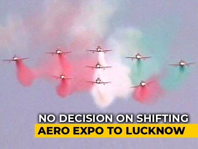 Video : As UP Lobbies For Aero India, Karnataka Fumes, Attacks Centre