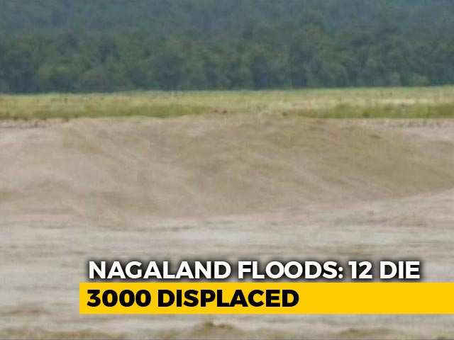 Video : In Flood-Hit Nagaland, 50,000 People Cut Off; Ministers To Visit Today