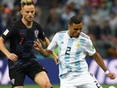 World Cup Live: Ante Rebic Volley Gives Croatia 1-0 Lead vs Argentina