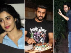 Janhvi, Anshula, Varun Dhawan Rocked Arjun Kapoor's Birthday Party. Pics Here