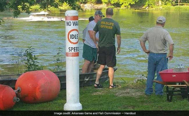 Arkansas man dies after being sucked into whirlpool created by underwater sinkhole