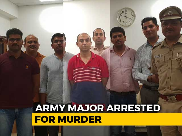 Video : Army Major Wanted To Marry Officer's Wife, Killed When She Refused: Cops