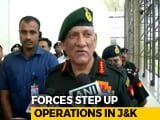 Video : Ramzan Ceasefire Suspended Because Of Terrorists: Army Chief Bipin Rawat
