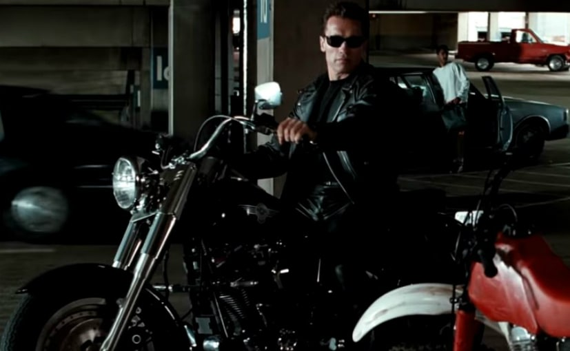 Terminator 2' Harley-Davidson Fat Boy Sells For Record