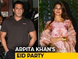 Video: Salman, Jacqueline & Other Stars At Arpita Khan's Eid Party