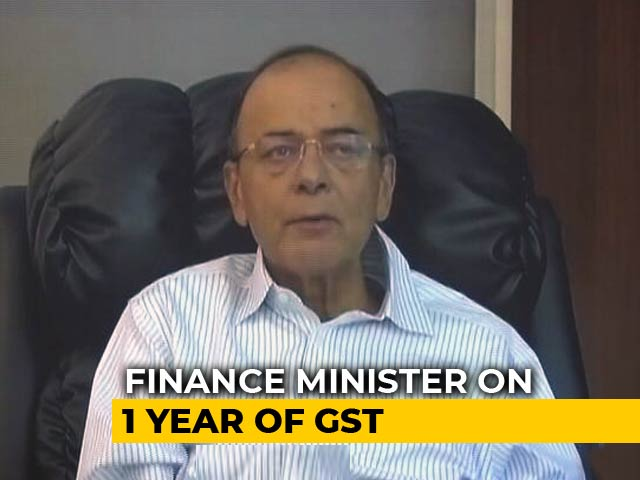 Video : 18 Per Cent More Direct Taxes Collected After GST, Says Arun Jaitley