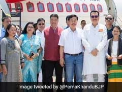 """Historic Moment"" As First Commercial Flight Lands In Arunachal Pradesh"