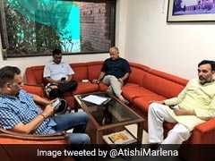 Arvind Kejriwal, Ministers Tweet Actively As They Protest At L-G Office
