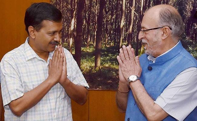 एलजी को दिल्ली में सेवाओं को नियंत्रित करने की शक्ति : केंद्र