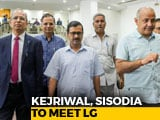 Video : Amid Tussle Over Services, Arvind Kejriwal, Lt Governor To Meet