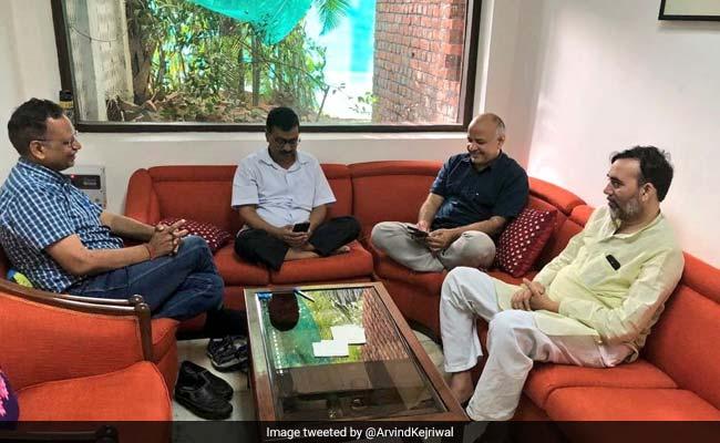 'We Care For Delhi': Arvind Kejriwal Spends Second Night At Lt Governor's House