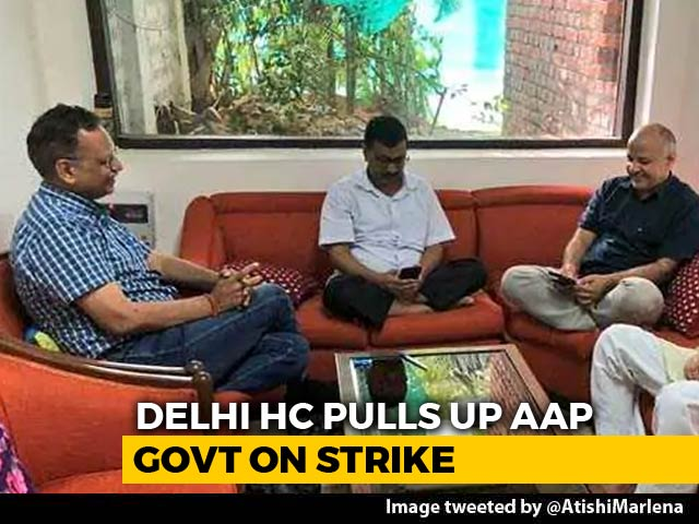"Video : ""Can't Hold Strike In Someone's House"": Court On Arvind Kejriwal Sit-In"