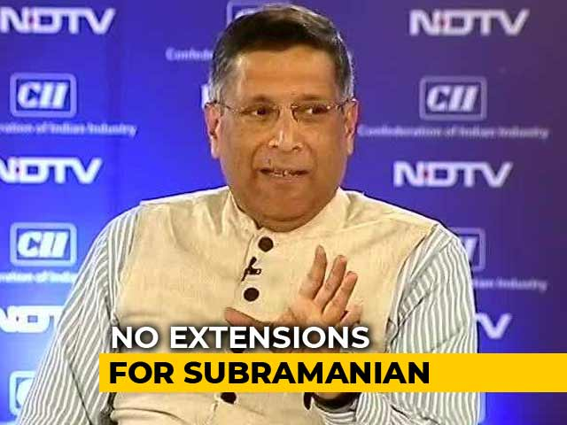Video : Chief Economic Advisor Arvind Subramanian To Return To US: Arun Jaitley