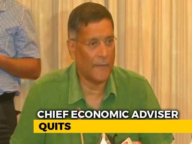 "Video : ""Best Job, Not Without Controversy Sometimes"", Says Arvind Subramanian"