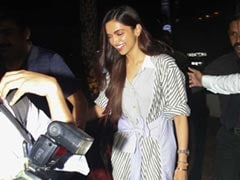 Deepika Padukone Makes A Strong Case For Stripes - Again