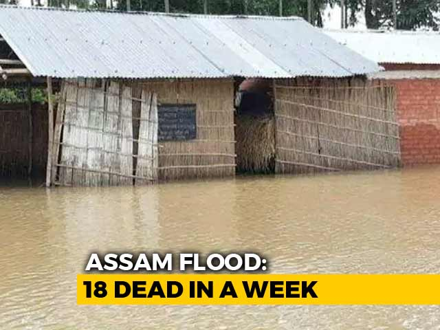 Video : After A Week, Floodwaters Start Receding In Four Assam Districts