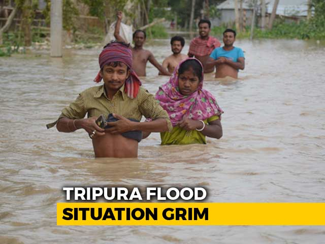Video : Over 3,600 People Rescued From Flood-Hit Tripura, Assam