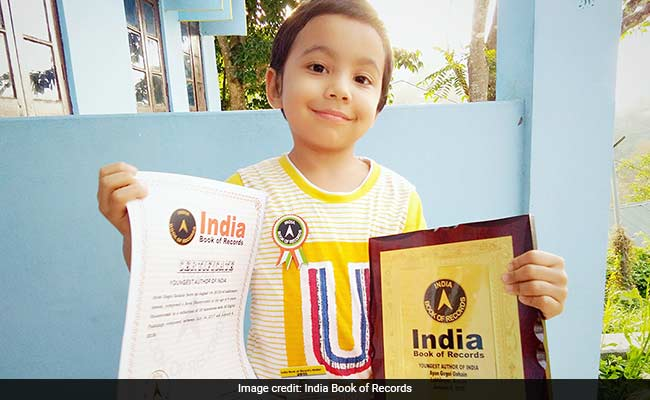 Four-Year-Old Boy From Assam Named 'Youngest Author Of India'
