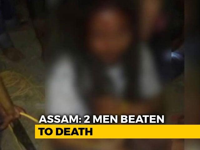 Video : 2 Men, Mistaken For Child Kidnappers, Beaten To Death In Assam