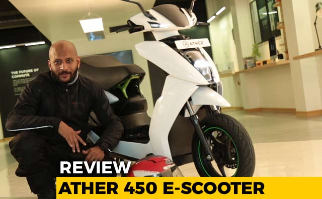 Ather 450 Electric Scooter First Ride Review