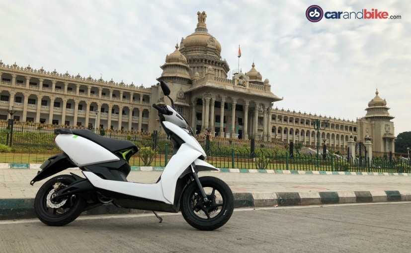 The new Ather 450X is expected to offer better specifications and more features than the Ather 450