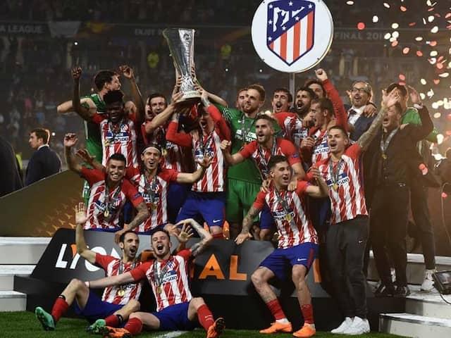 Antoine Griezmann Scores As Atletico Madrid Beat Marseille To Clinch Europa League Title