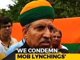 Video : After Alwar Lynching, Minister Links Mob Killings To PM Modi's Popularity