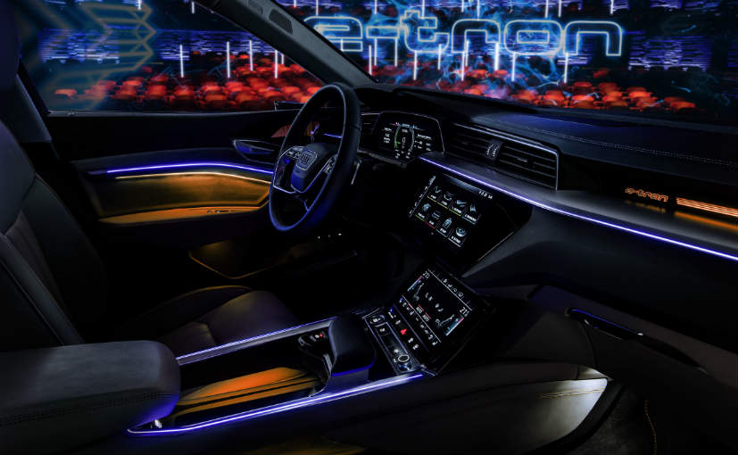 Audi E Trons High Tech Interior Revealed Ndtv Carandbike