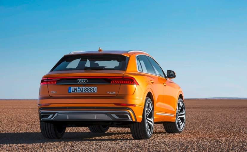 All New Audi Q8 Coupe Suv Unveiled Ndtv Carandbike