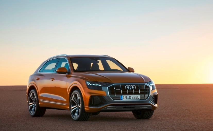 The Audi Q8 coupe-SUV shares its platform and technology with the Audi Q7