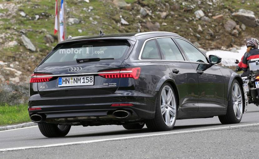 New Audi Rs6 Avant Spied Testing With Minimal Camouflage Ndtv