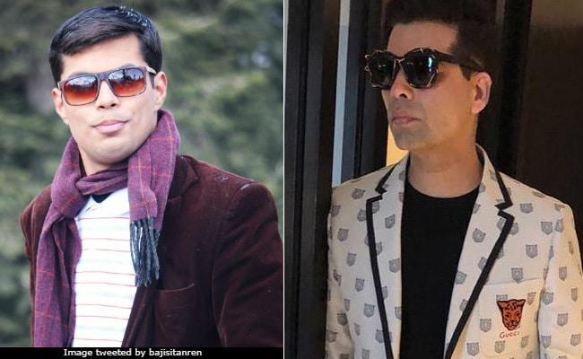 eaf4a0dc54f Karan Johar  Speechless  As His  Doppelganger  Hijacks Spotlight On Twitter