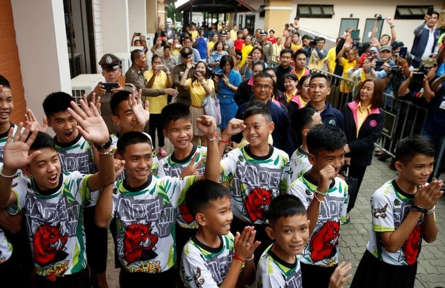 Royal Feast For Thousands As They Celebrate Thai Cave Boys Rescue