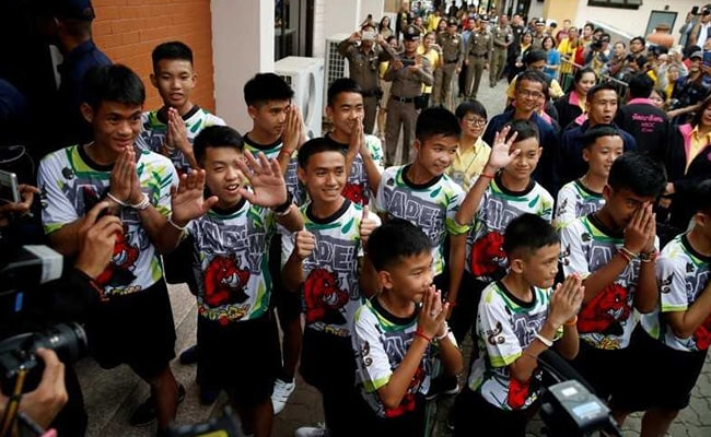 Once 'Stateless', Three Rescued Thai Boys, Coach Now Given Citizenship