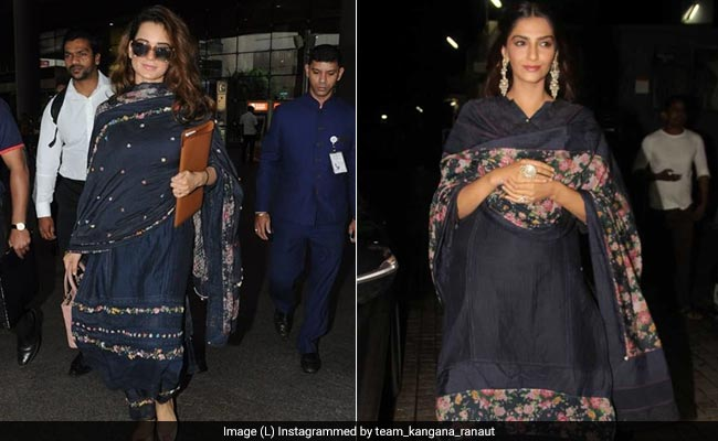 Kangana Ranaut Or Sonam Kapoor: Who Wears Pero Better?