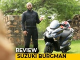 Video : Suzuki Burgman Street Review