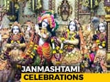 Video : Janmashtami Celebrations: Country Celebrates Birth Of Lord Krishna