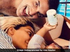 Lisa Haydon's Picture With Her 'Boys' Dino and Zack Lalvani Is Too Cute To Be Missed