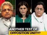 Video: Crucial Rajya Sabha Polls Tomorrow: Test For Opposition Unity?
