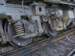 Train Derails After It Hits Elephant In Assam