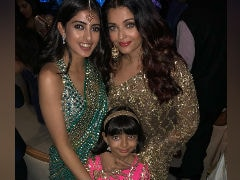 This Pic Of Aishwarya Rai Bachchan, Aaradhya And Navya Naveli Nanda Must Be Abhishek's Favourite