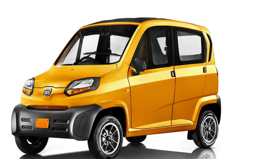 Bajaj Qute Quadricycle India Launch Details Out - NDTV CarAndBike
