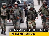 Video : 2 Terrorists Killed In Jammu And Kashmir's Bandipora