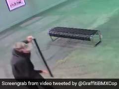 $45,000 Banksy Artwork Stolen From Exhibit. Brazen Robbery Caught On CCTV