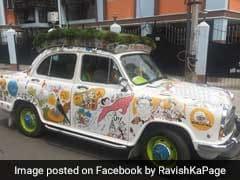 कार की छत पर खेती और डैशबोर्ड को बना दिया बुलशेल्फ, जानें इस टैक्सी के बारे में
