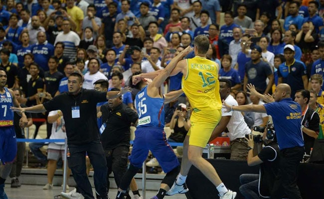 Australia, Philippines Basketball Teams Exchange Punches, Kicks In Brawl