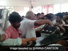 Watch: Andhra Official Beats Up People As Mob Swamps 'Anna Canteen'