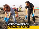 Video : Anusha Dandekar & Saiyami Kher Join 'Versova Clean-Up Drive'